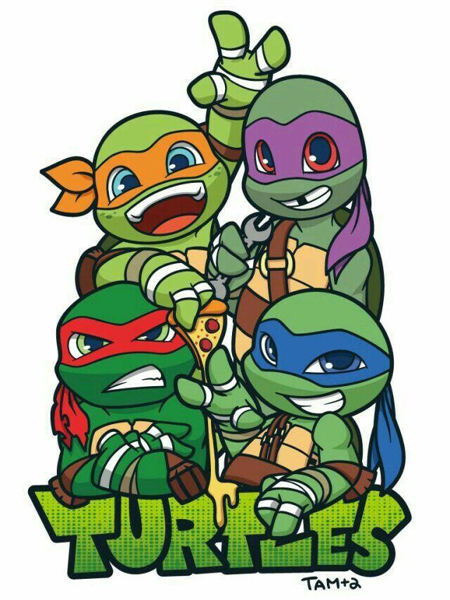 Teenage Mutant Ninja Turtles by trujayy on DeviantArt   Baby Ninja Turtles Drawings