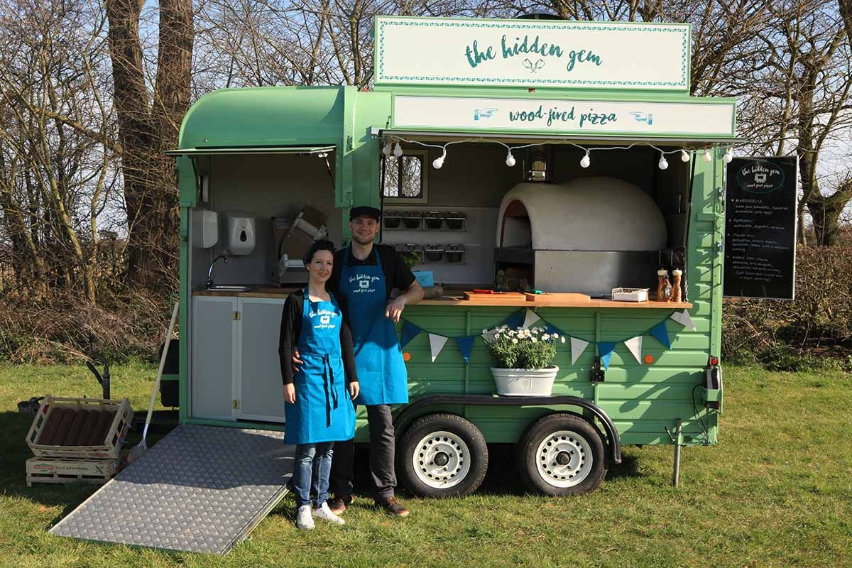 Portable wood fired pizza oven for sale - Mobile Vintage Food Truck Serving Wood Fired Pizza Specialising In Weddings Festivals And All Shindigs