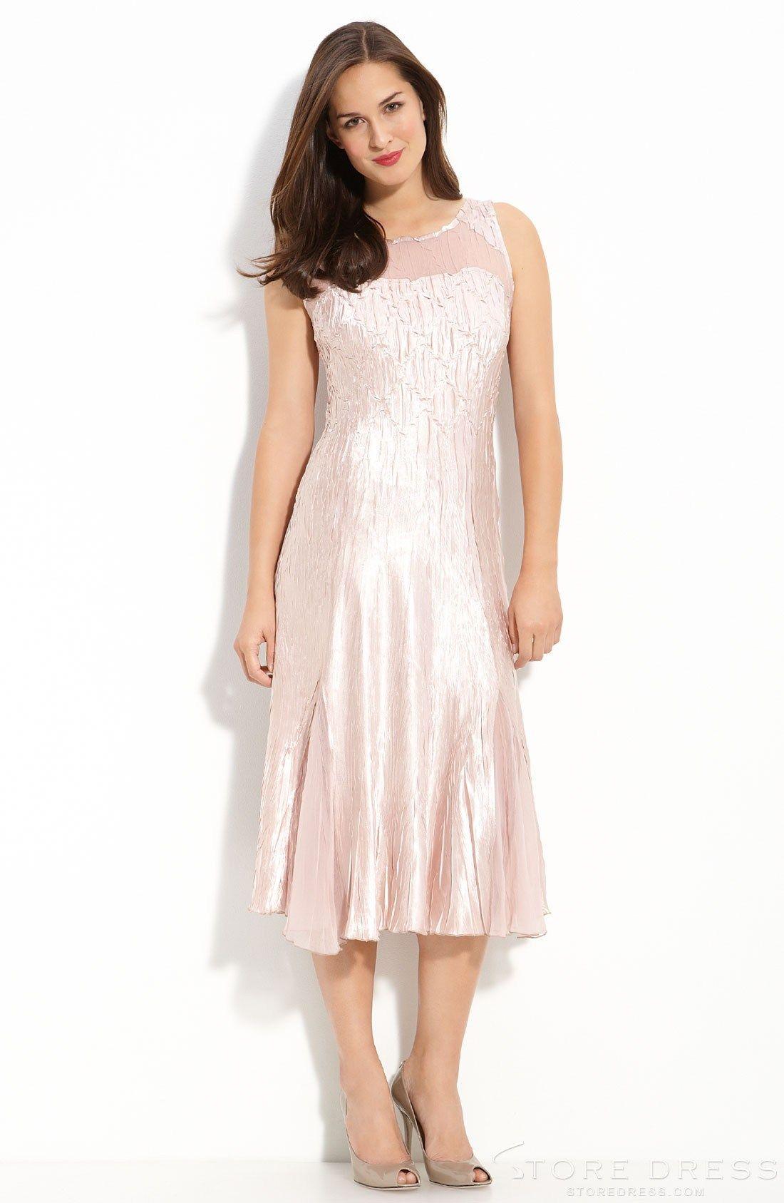 Pink without the jacket Charmeuse dress, Stylish prom