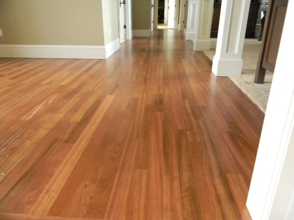 The Molding Maple Floors Tan Walls White Baseboards