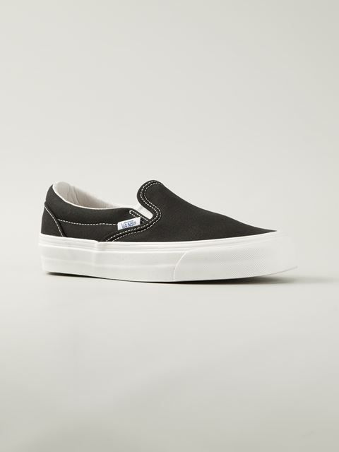 c5c062bac3aa Vans Canvas Slip-on Sneakers - Societe Anonyme - Farfetch.com