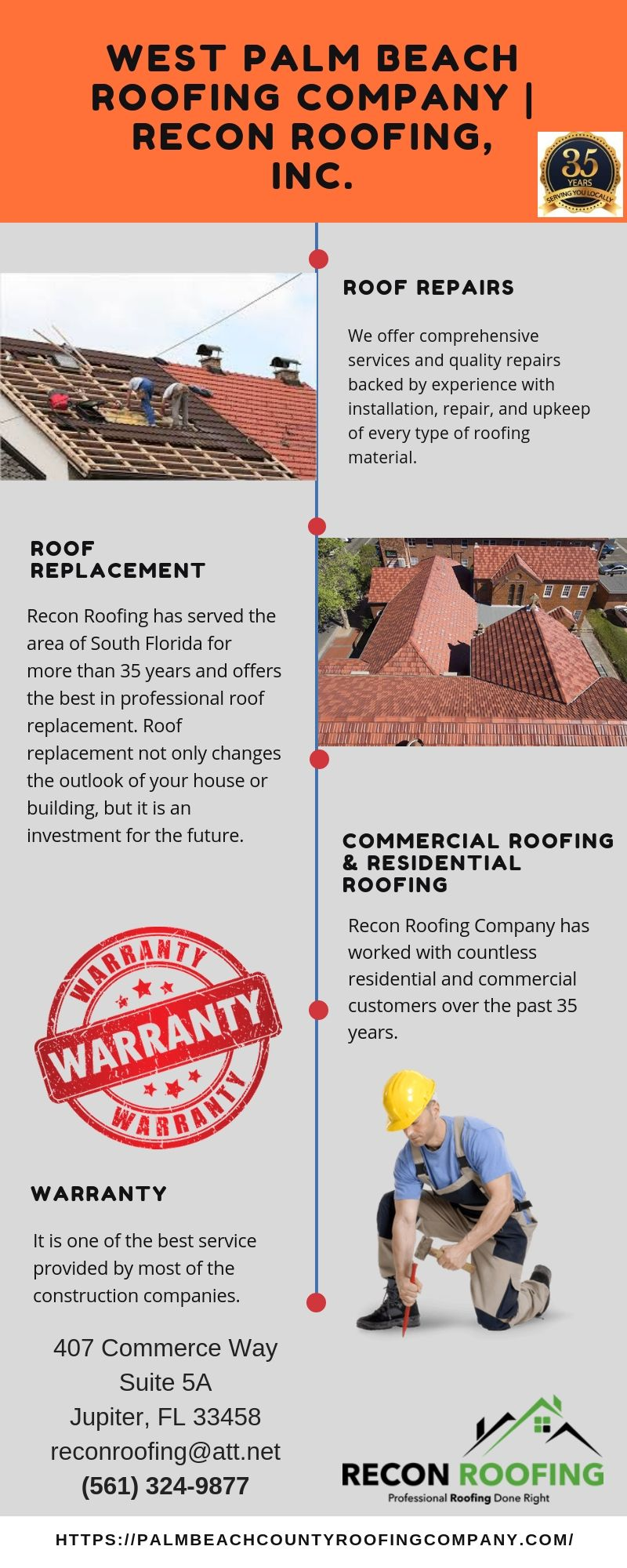 West Palm Beach Roofing Company Recon Roofing Inc 561 324 9877 Palm Beach West Palm Beach West Palm