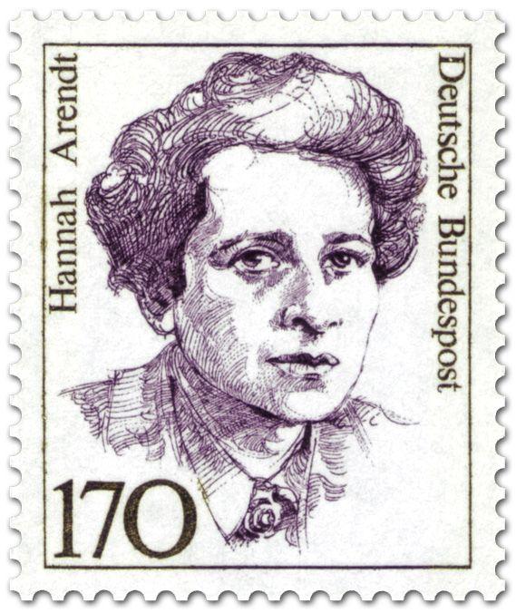 Bundesrepublik Deutschland 1988 Hannah Arendt Frauen