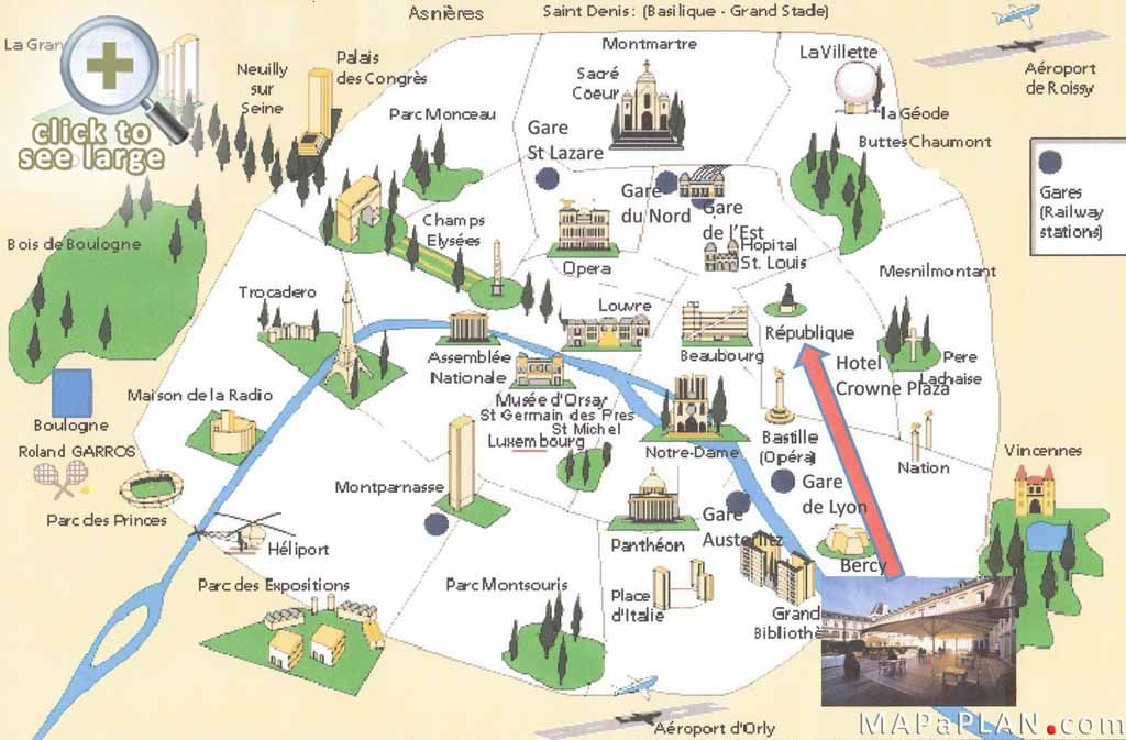 Dubbed the City of Light Capital of Fashion Paris is home to – Map of Paris Arrondissements with Attractions