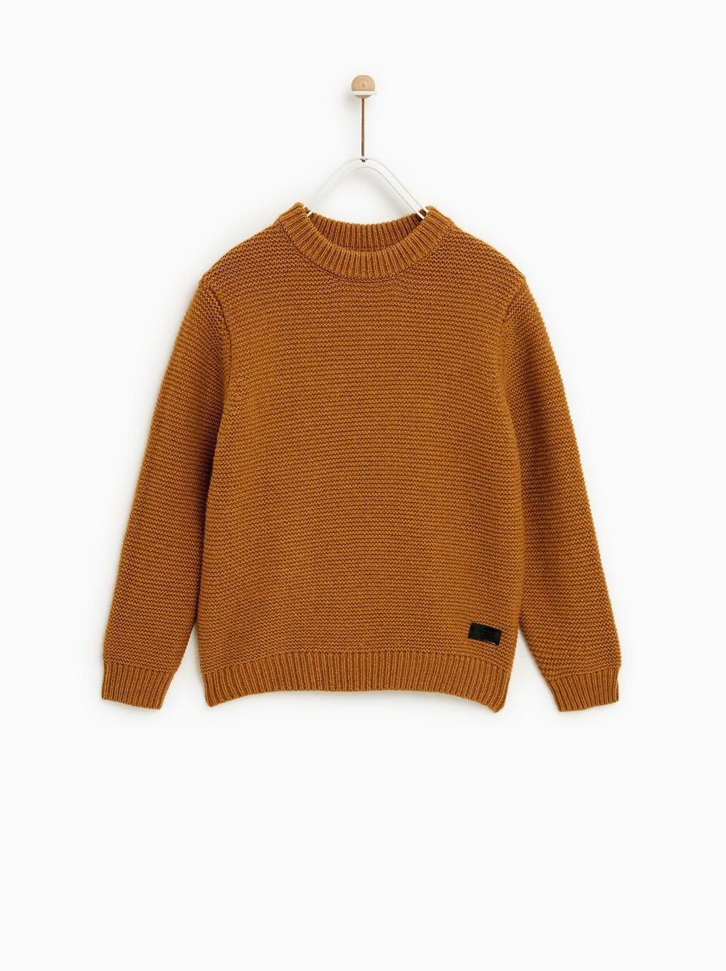 9fc4d3db2b7 BASIC CABLE KNIT SWEATER - Item available in more colors