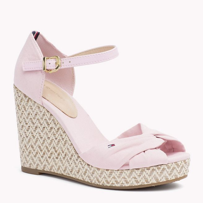 Tommy Hilfiger Mixed Wedge Sandal - pale lilac (Pink / Purple) - Tommy Hilfiger Wedges &  Espadrilles - main image