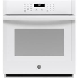 Ge Scan To Cook Self Cleaning Single Electric Wall Oven White