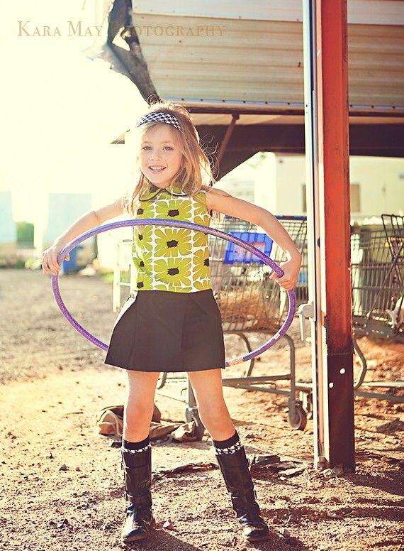 70\'s Hula Hoop Dress | Fashion & Kids | Pinterest