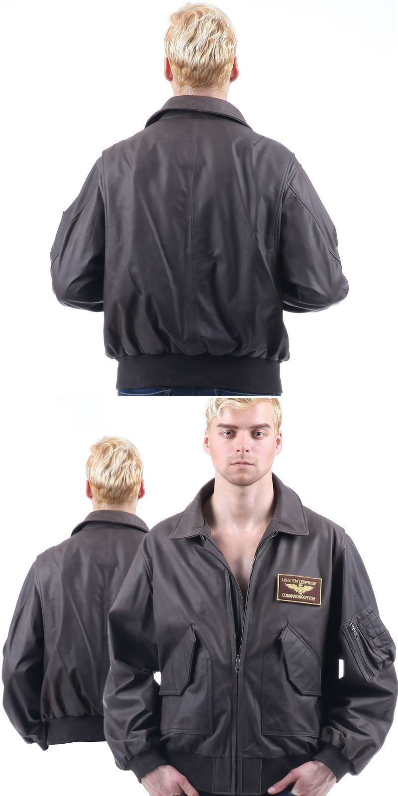 45P AF flight jacket US Army Military Pilot Bomber usaf hip hop motorcycle  of environmental protection leather Men s WOMen s  militarypilot 3a5c71ca3d