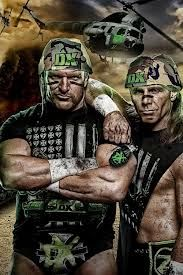 wwe shawn michaels & HHH DX Wallpaper DX Army