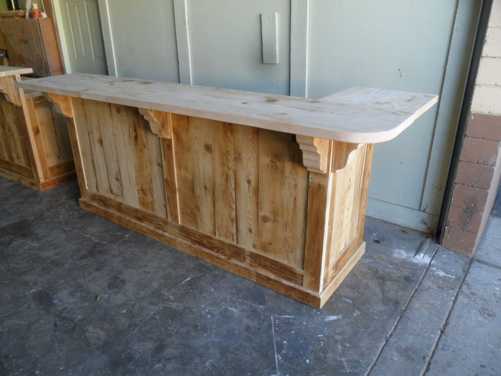 Great Counter With A Great Look, This Is What Country Is All About. Made  From Reclaimed Wood, Custom Made And Can Be Made Any Colour And Size, ...