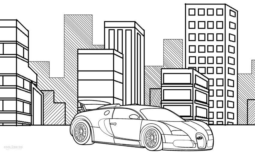 printable bugatti coloring pages for kids - Pictures To Colour For Boys