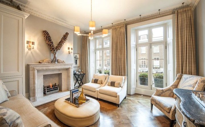 Beautiful fireplaces and colours