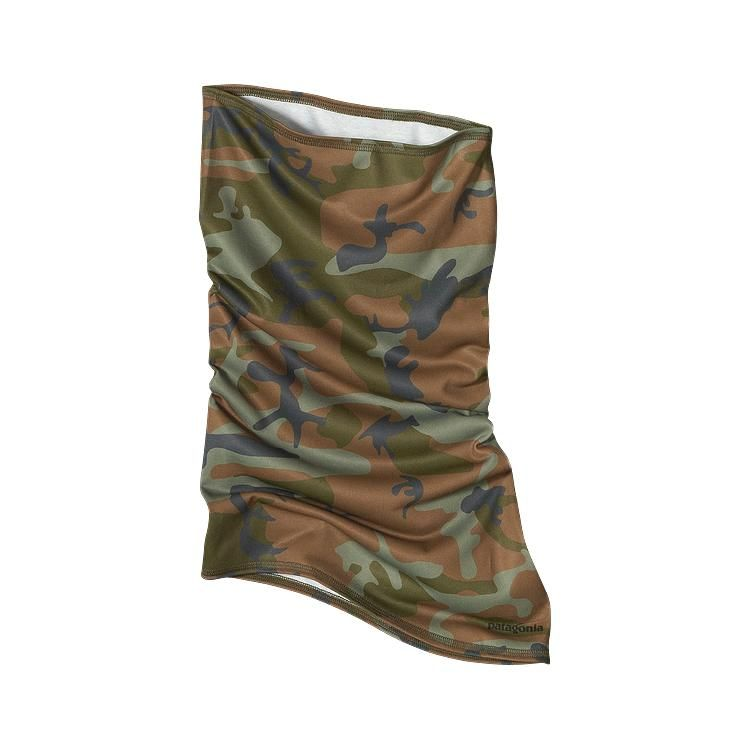 Patagonia Sun Mask - Forest Camo: Ash Tan (FCAT-286) $29.00 (UPF 20)