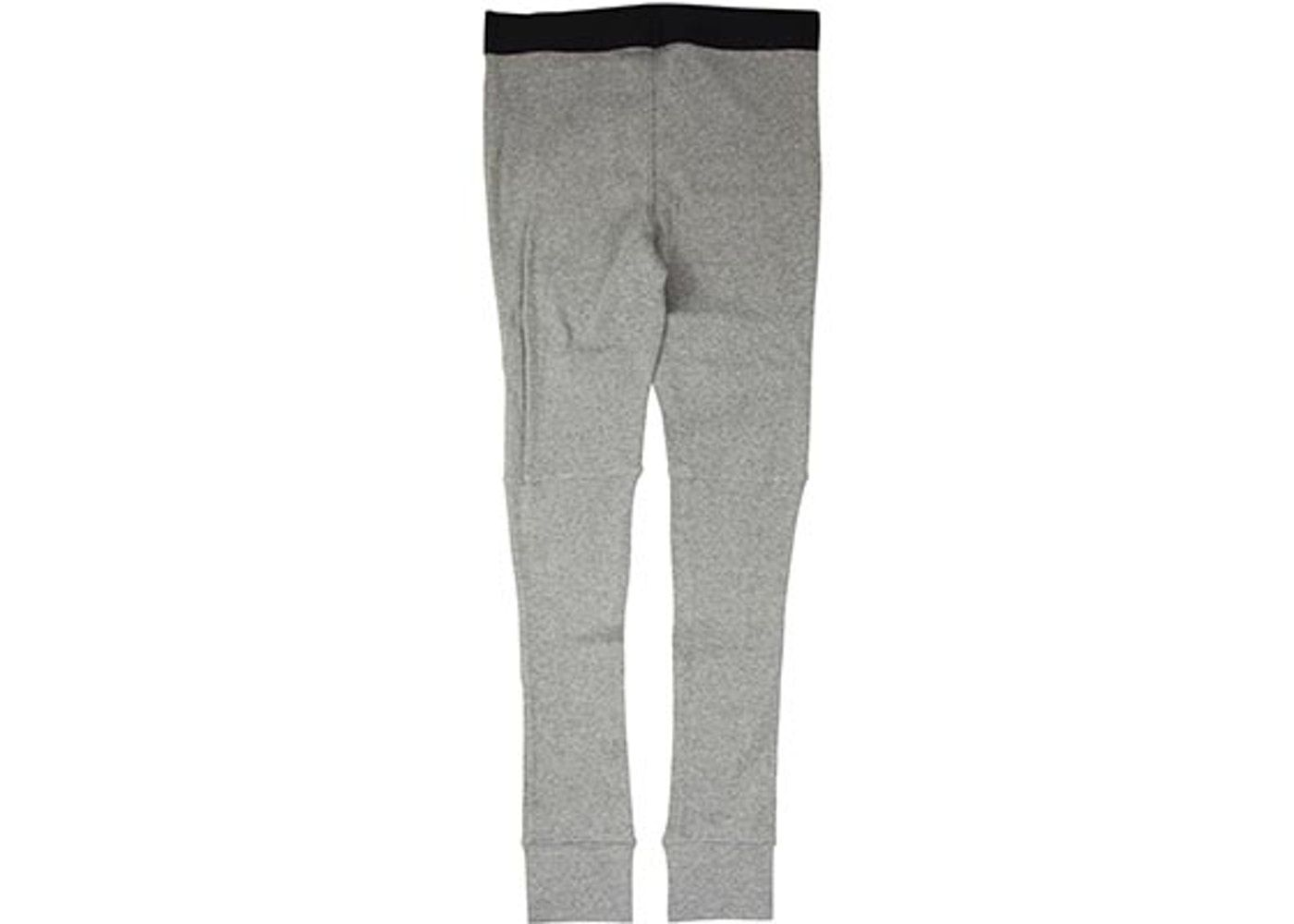 06d8cfa9 Check out the Fear of God FOG Essentials Thermal Waffle Knit Leggings Grey  available on StockX