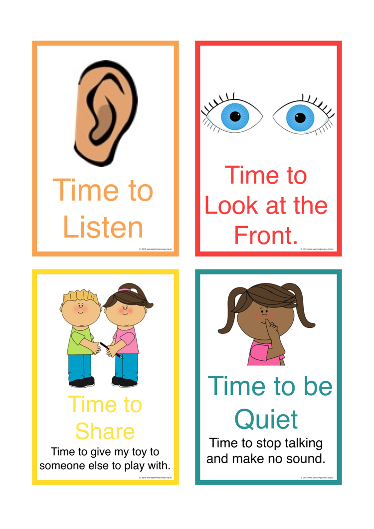 Activity Transition Cards designed to help children with Autism transition between activities in their educational setting. Part 3 of a set of 3. FREE Download.