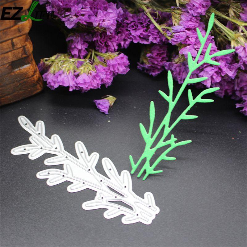 Floral Grass Metal Cutting Dies Stencil Scrapbook Album Paper Card Craft DIY