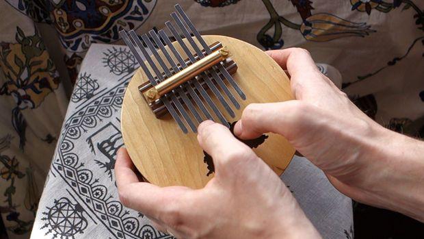 Make a Kalimba or thumb piano.