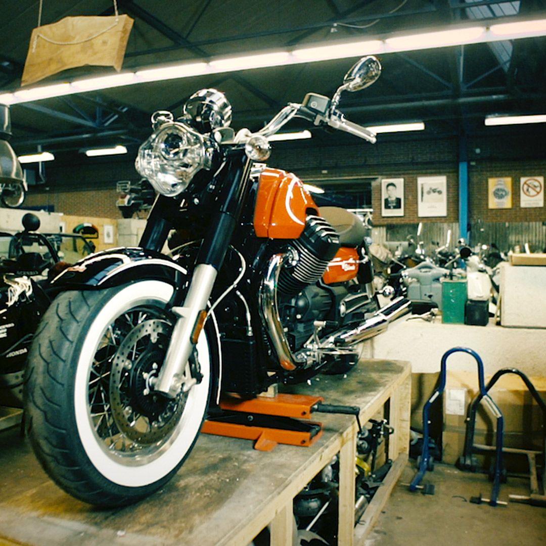 The Eldorado in the garage, ready for an adventure.