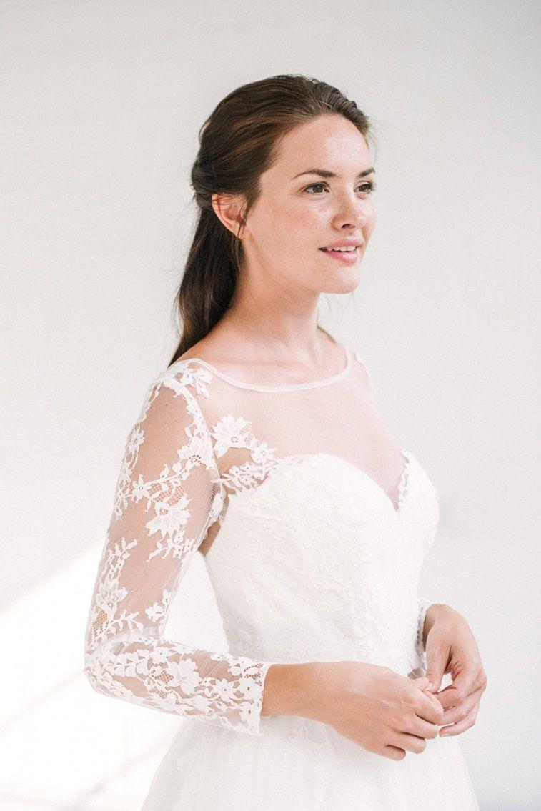 Naomi neoh bridal gown collection illusion neckline wedding