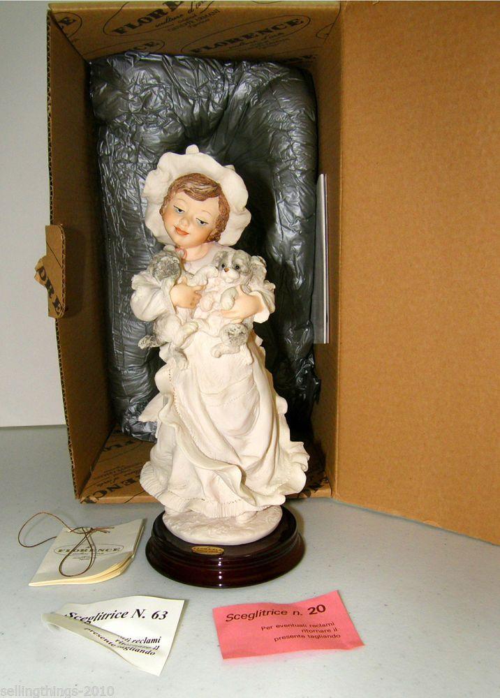 "Giuseppe Armani figurine #1184F – ""Two Good""  - in original box"
