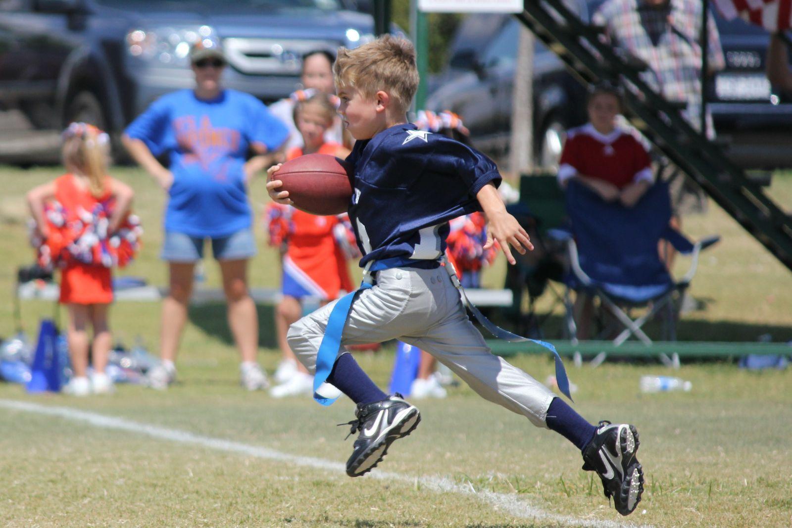Flag football kid by fawn jones football kids youth