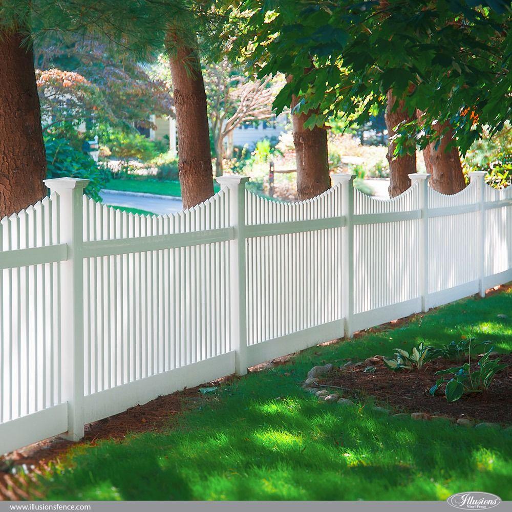 42 Vinyl Fence Home Decor Ideas For Your Yard White Picket Fence Vinyl Fence White Vinyl Fence