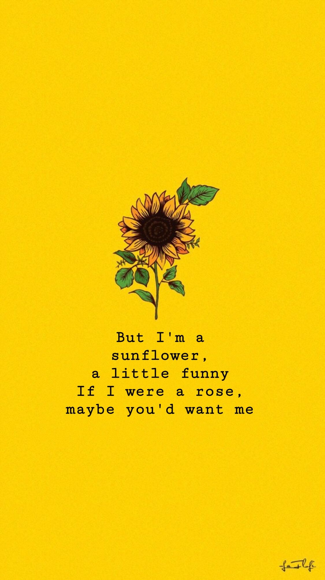 Sunflowers Sierraburgessisaloser Wallpaper Sunflower Quotes Wallpaper Quotes Sunflower Wallpaper