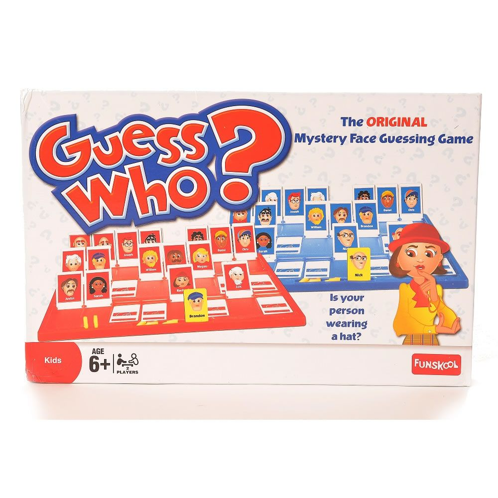 Guess Who Guessing Game Guessing games, Kids' games