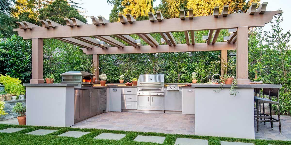 Luxury Outdoor Kitchen In Palo Alto California Luxury Outdoor Kitchen Diy Outdoor Kitchen Outdoor Kitchen Design