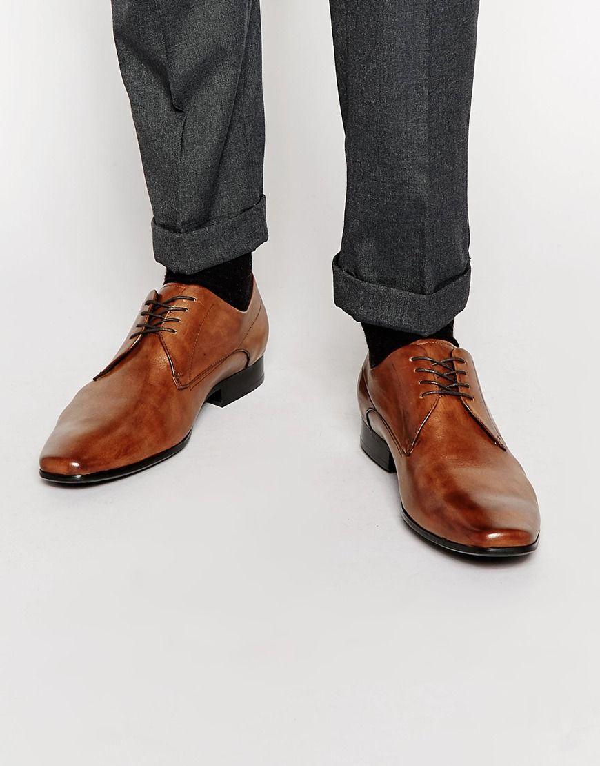 8904d184996 Zapatos Derby de cuero Roycroft de ALDO Zapatos Derby Hombre
