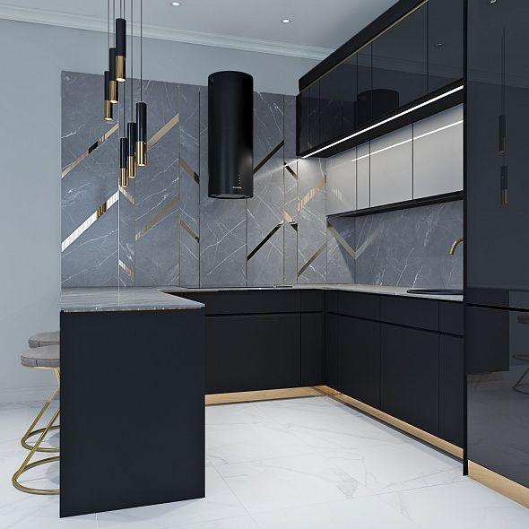Кухня Platino mobili Carato 3D из Италии, купить ...