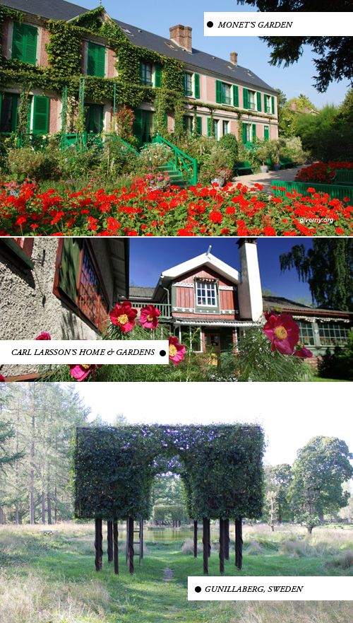 The House That Lars Built.: Top destinations for flower lovers  It's so pretty!! :O