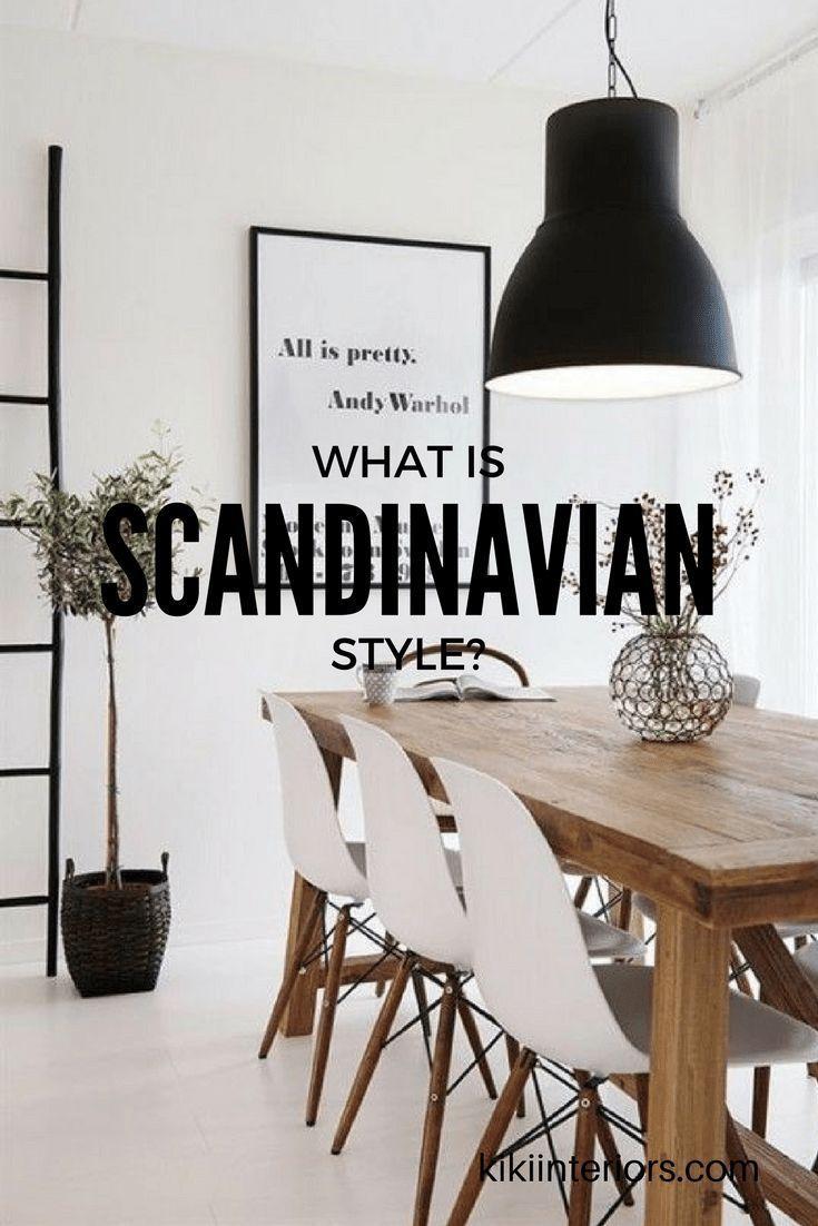 What Is Scandinavian Style Interiorsbykiki Com In 2020 Scandinavian Home Interiors Scandinavian Style Furniture What Is Scandinavian