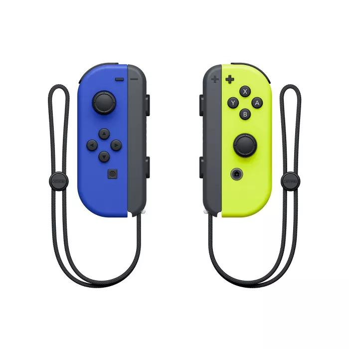 Nintendo Switch Joy Con L R Blue Neon Yellow Buy Nintendo Switch Nintendo Switch System Nintendo Switch
