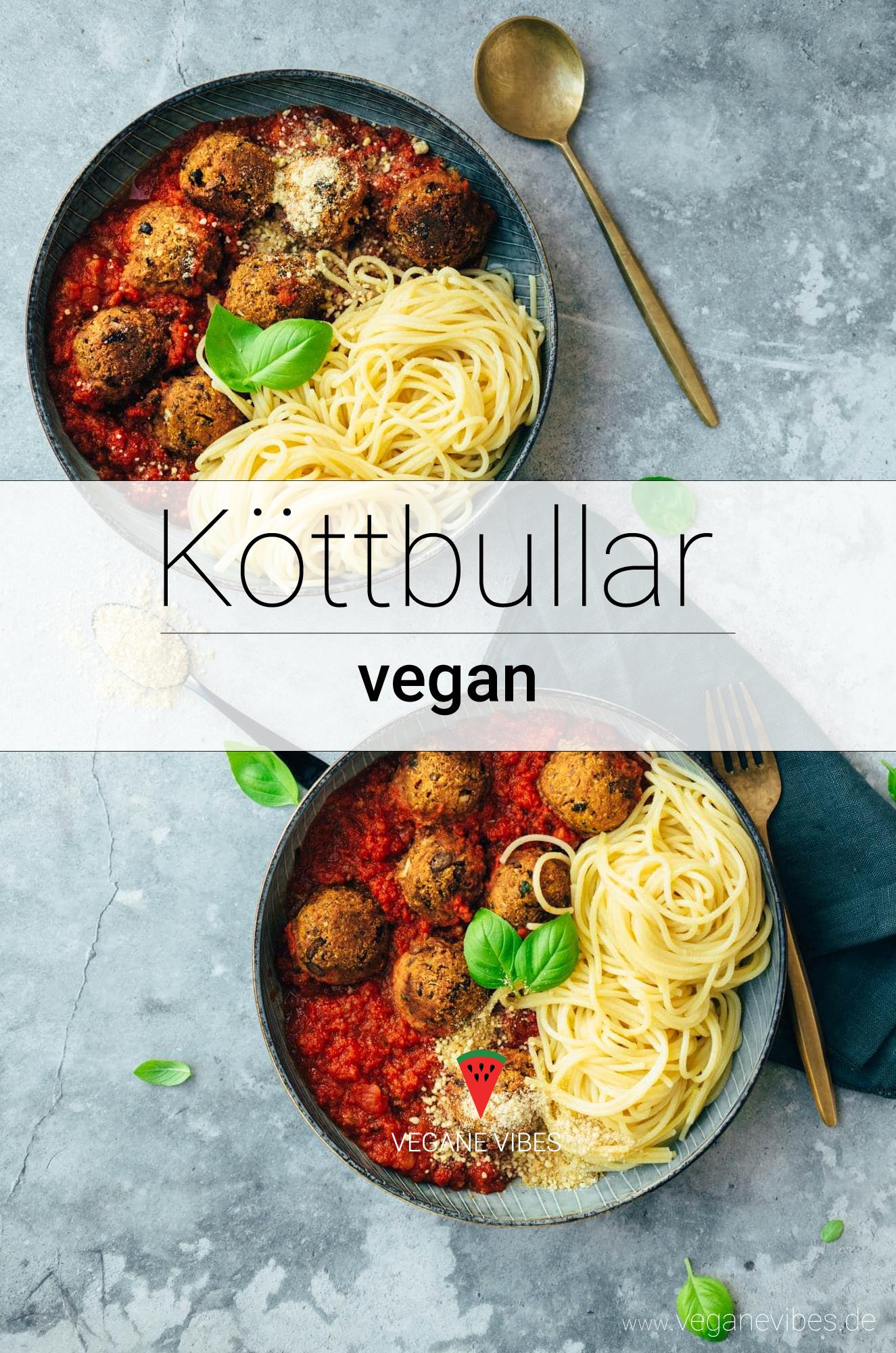 Hackbällchen – Köttbullar (vegan, glutenfrei)