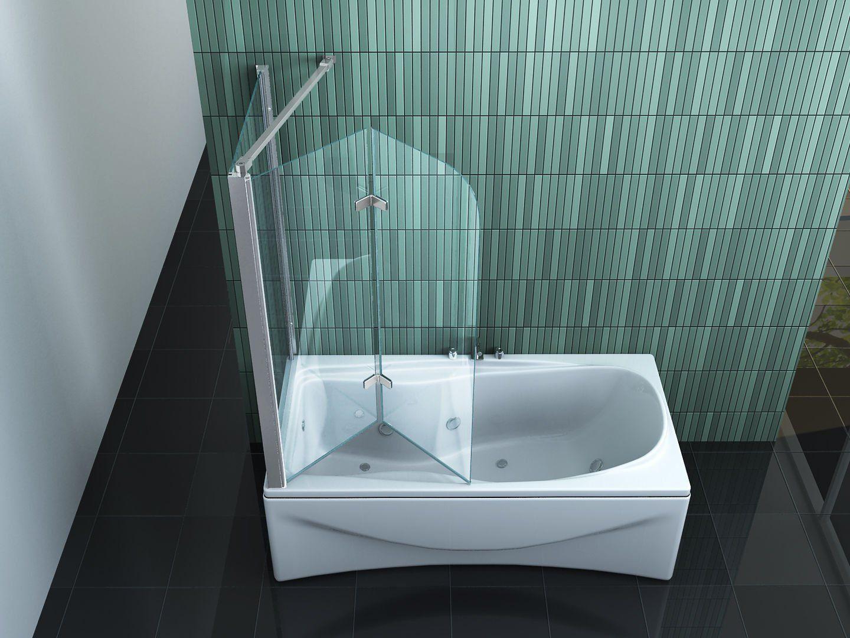 Duschwand Badewanne Amazon Bathtub Bathroom