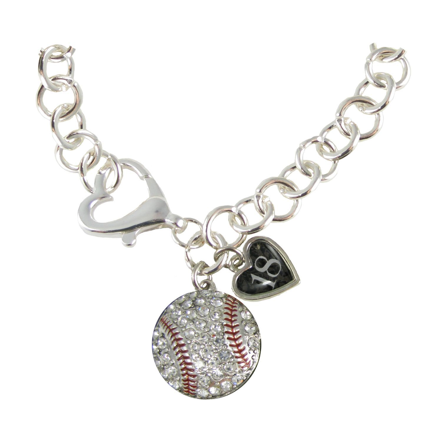 necklaces charm for caymancode baseball necklace guys arrow mens