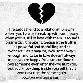 Sometimes love just isn\'t enough | Sayings/quotes ...