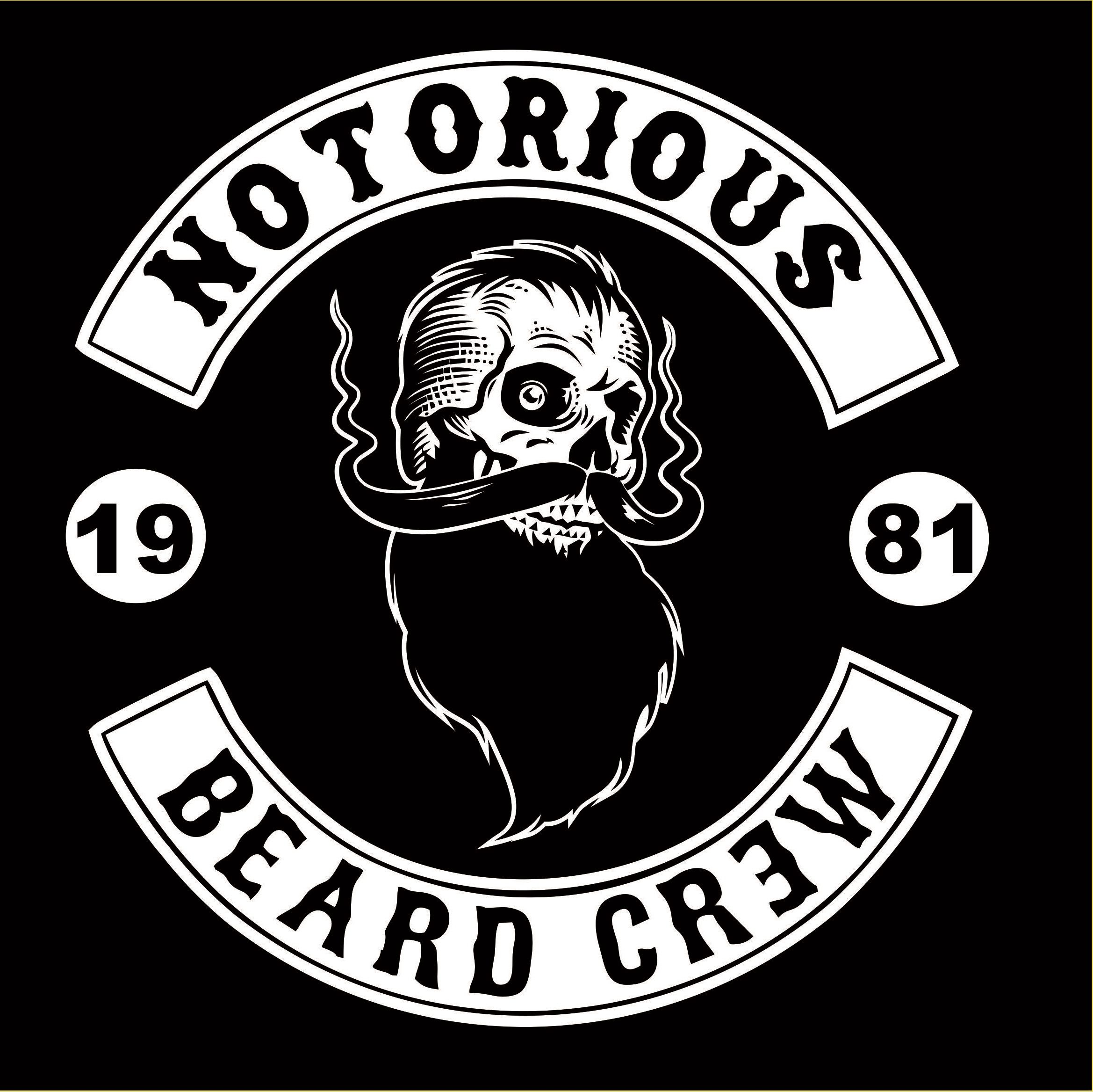Notorious skull beard logo crew | Anatomy Studies | Pinterest