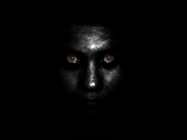 Grey Face Scary Dreams Scary Faces Creepy Faces