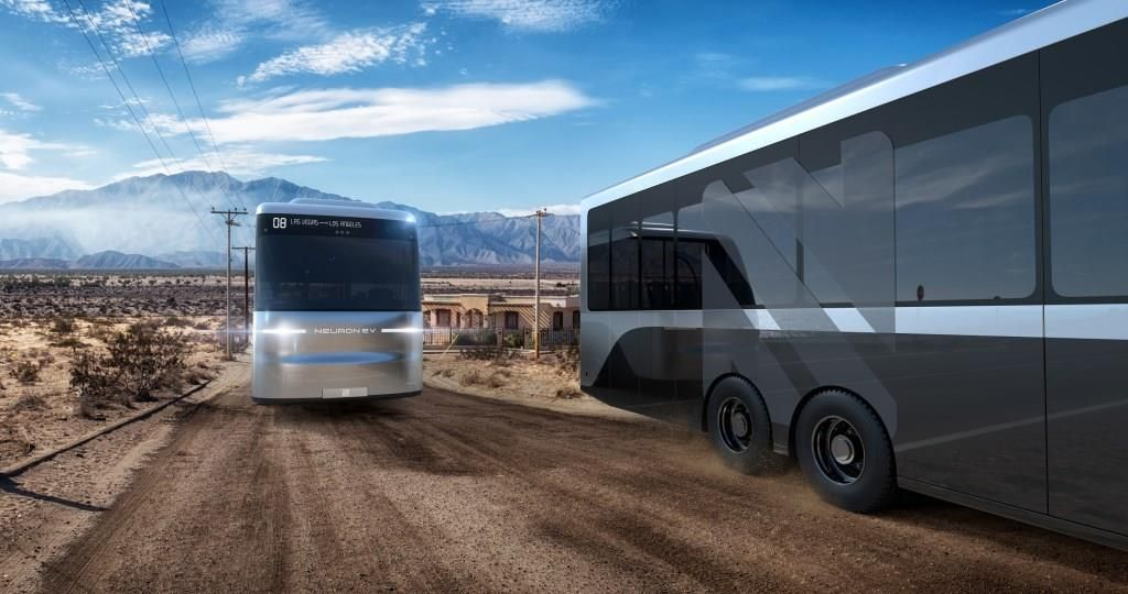 Transportation Electricvehicle Neuronev Neuron Ev Presents New Electric Bus Bus Neurons Energy Bus