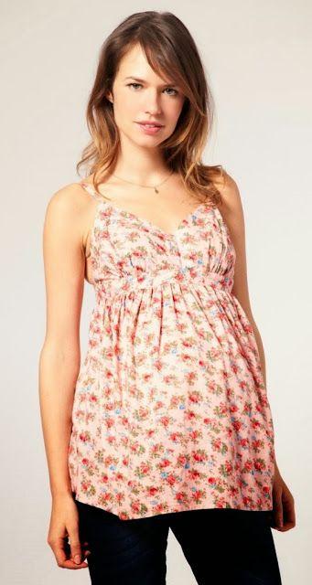 407a71211 Blusas de primavera para embarazadas 2014 8