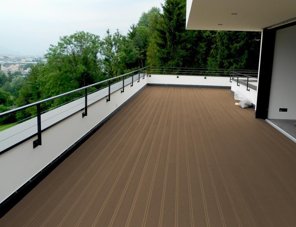 Second floor balcony terrace deck waterproof Outside