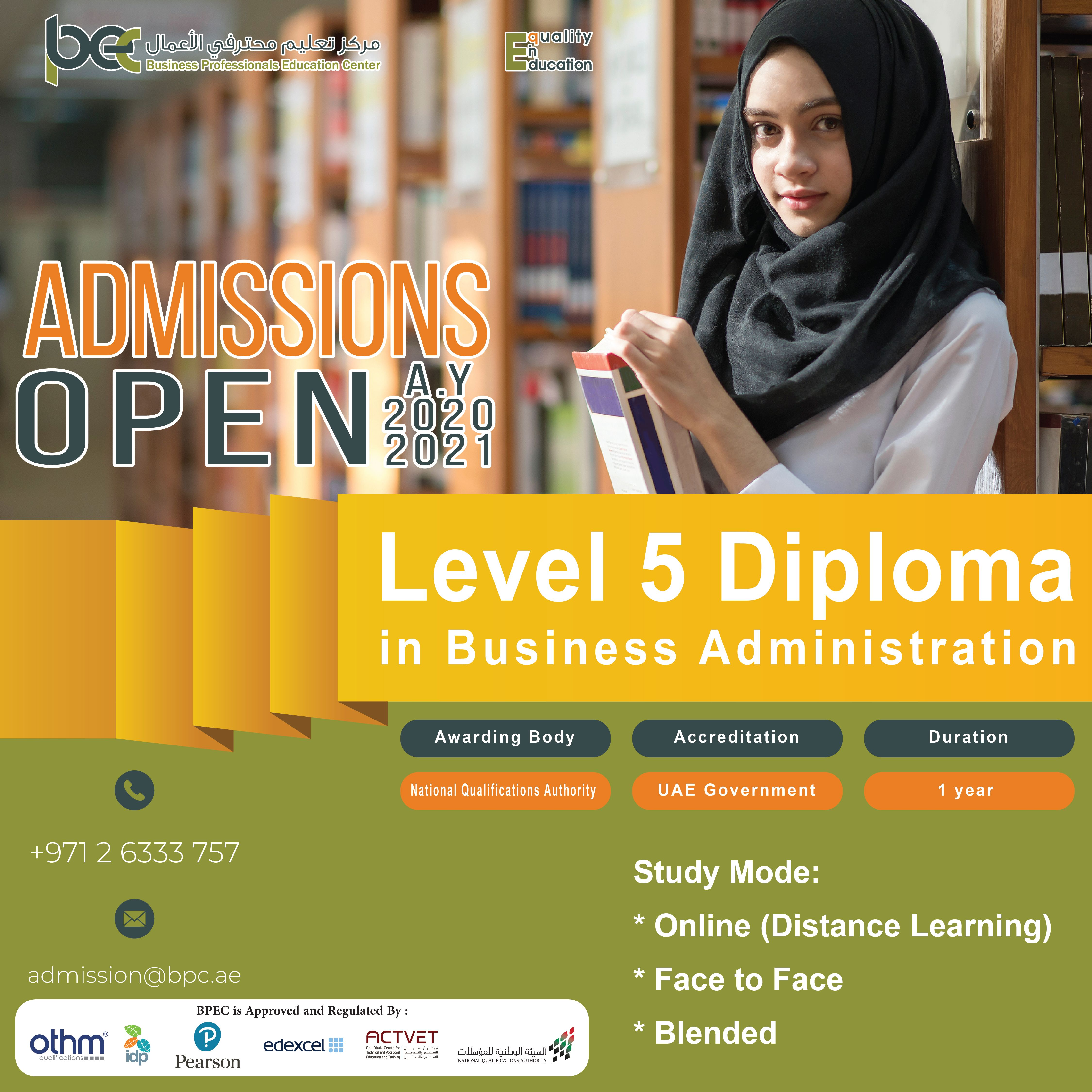 Level 5 Qualifications Are Especially Attractive To Students With Vocational Education And T Business Management Business Administration Education And Training