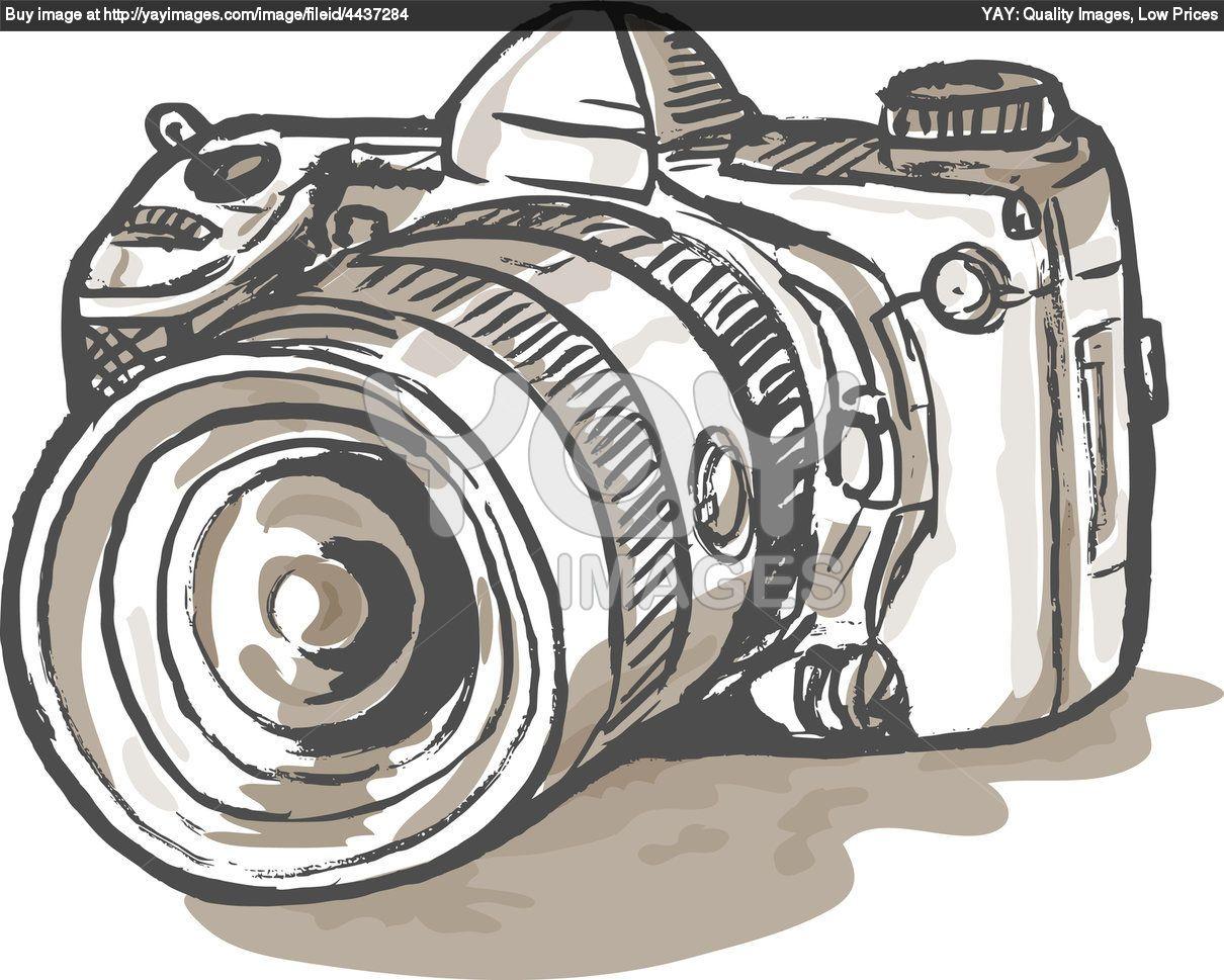 Camera Dslr Camera Cartoon old school camera cartoon google search to draw pinterest and google
