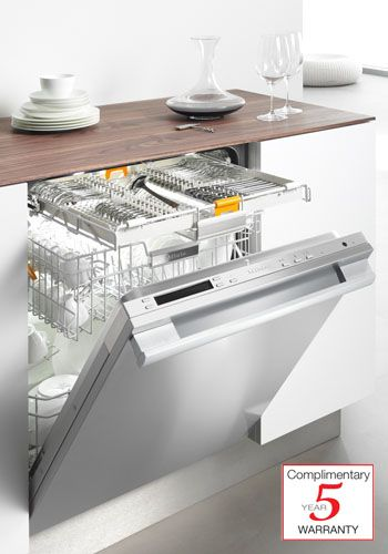 Diamond series Miele dishwasher prefinished stainless