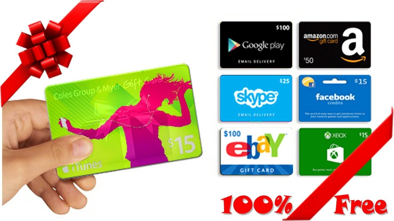 100 Free Amazon Gift Card Itunes Gift Card Steam Gift Card 100