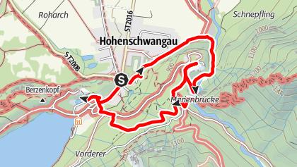 Static Outdooractive Map Schloss Neuschwanstein Neuschwanstein Reisen
