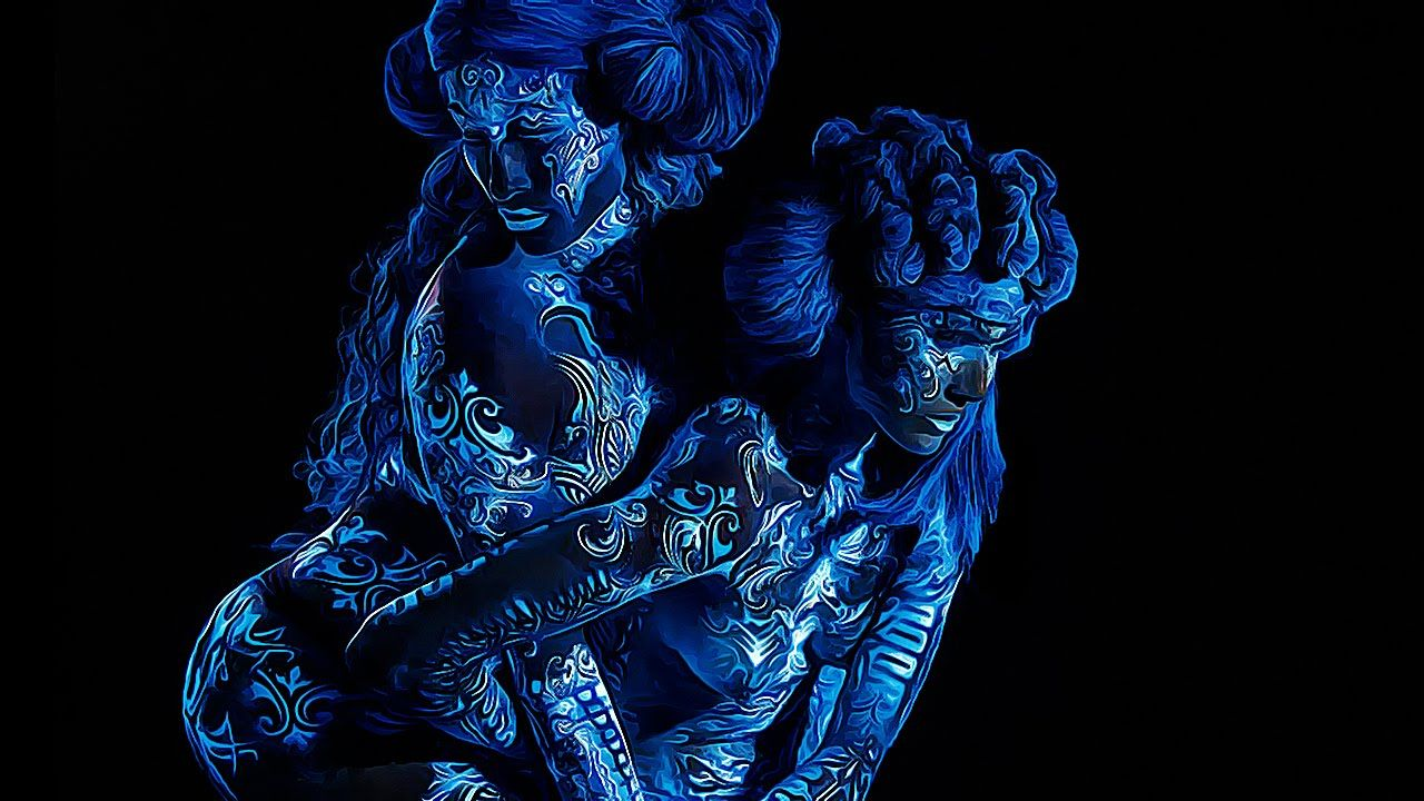 MODELS TRANSFORMED INTO DEMONS! Mythical creatures, Body